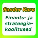 Sander Karu koolitus- ja koostööprogrammid